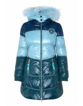 Parka Highly Reversible Azul Celeste
